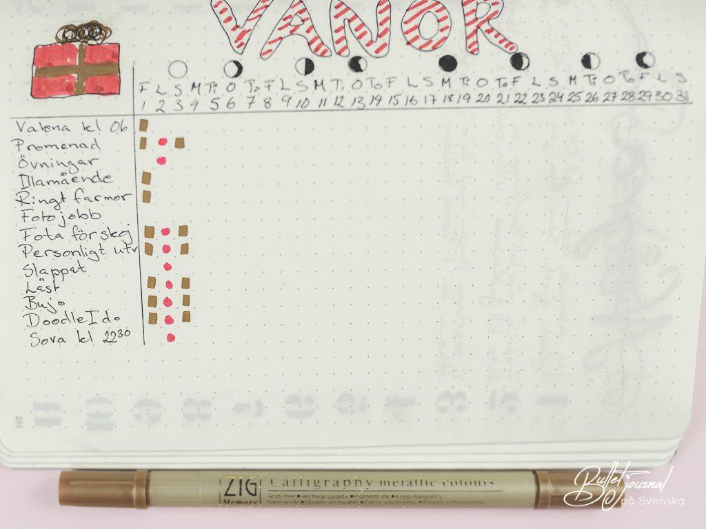 Planera med mig | Bullet journal